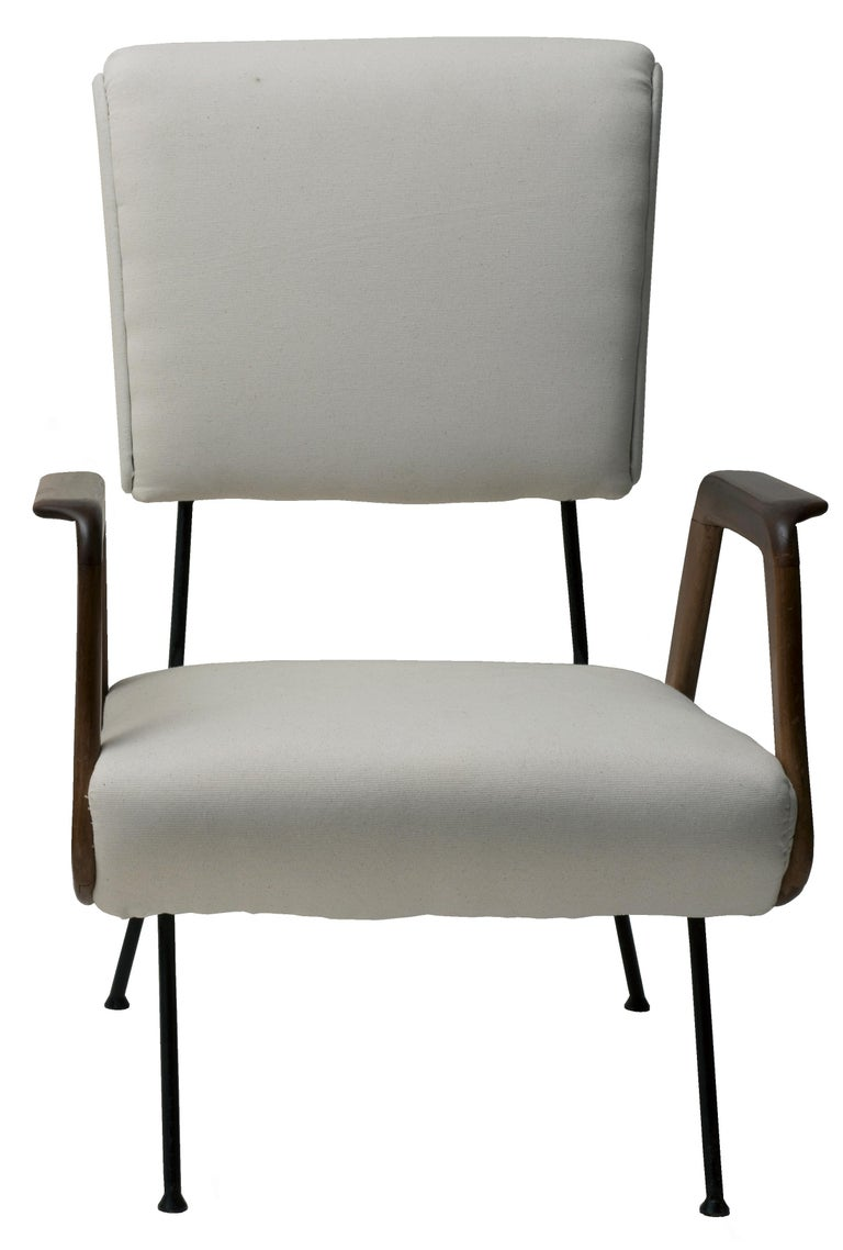 Pair of Vintage Armchairs Italian Production, 1950 In Good Condition For Sale In Roma, IT