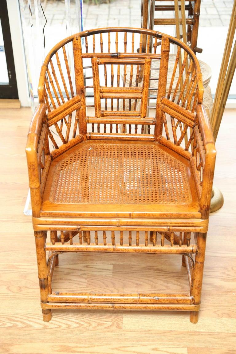 Pair of Chinoiserie Brighton Pavilion armchairs.
