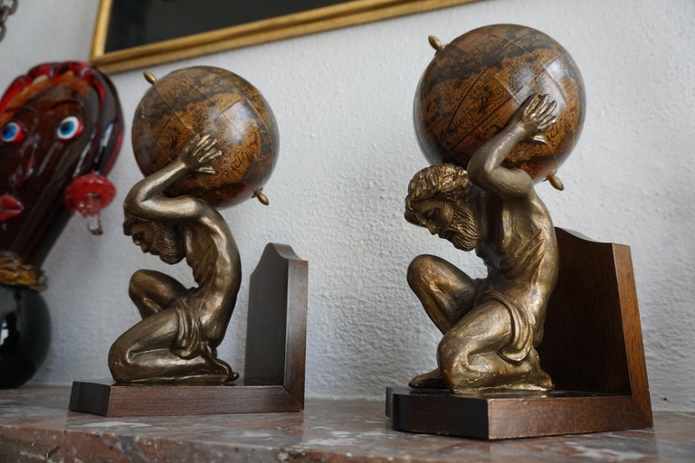 Pair of Vintage Bookends For Sale 5