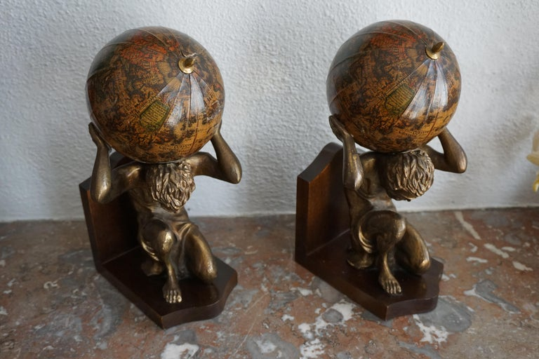 Pair of Vintage Bookends For Sale 7