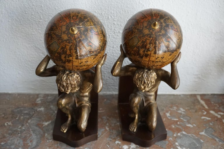 Pair of Vintage Bookends For Sale 1