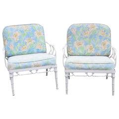 Pair of Vintage Brown Jordan Calcutta Aluminium Lounge Chairs