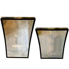 Pair of Vintage Carnival Mirrors