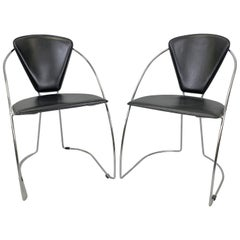 Pair of Vintage Chairs, 1980s
