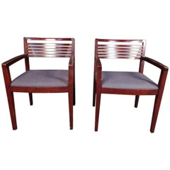 Pair of Vintage Chairs by Knoll