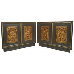 Pair of Vintage Decorative Cabinets
