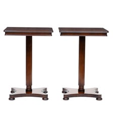 Pair of Vintage English Regency Side Table