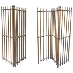 Pair of Vintage French Room Dividers/Victorian Room Dividers