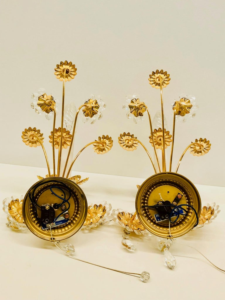 Pair of Vintage Gold-Plated