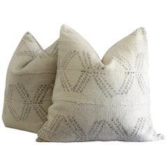 Pair of Vintage Grainsack Pillows