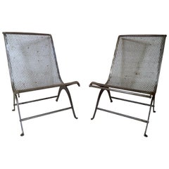 Pair of Vintage Industrial Chairs