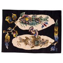 Pair of Vintage Jean Lurcat Tapestries
