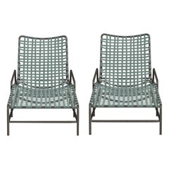 Pair of Vintage Kantan Lounge Chairs, Designed by Tadao Inouye for Brown Jordan