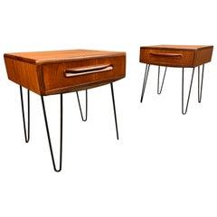 Pair of Vintage Mid-Century Modern Teak Nightstands by G Plan