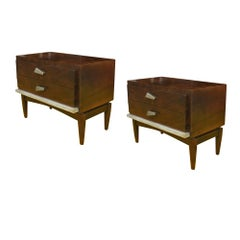 Pair of Vintage Mid Century Nightstands