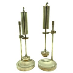 Pair of Vintage Midcentury Oil Lamps by Ilse Ammonsen for Daproma Design