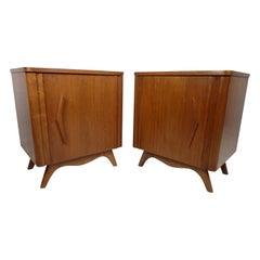 Pair of Vintage Modern Nightstands