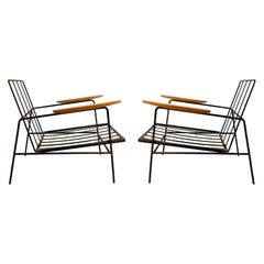 Pair of Vintage Modern Richard McCarthy Lounge Chairs