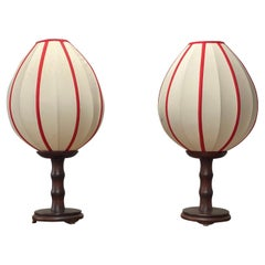 Pair of Vintage Moroccan Table Lamps