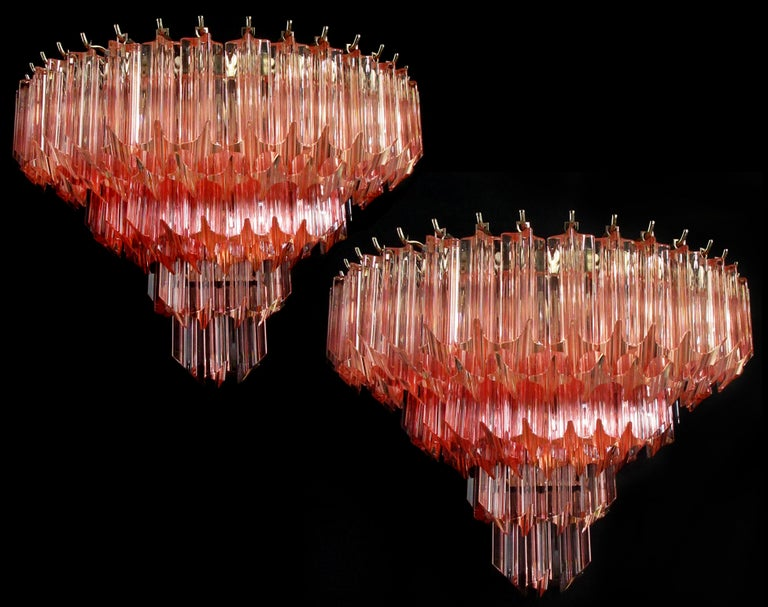 Pair of Vintage Murano Wall Sconce, 1980s For Sale 1