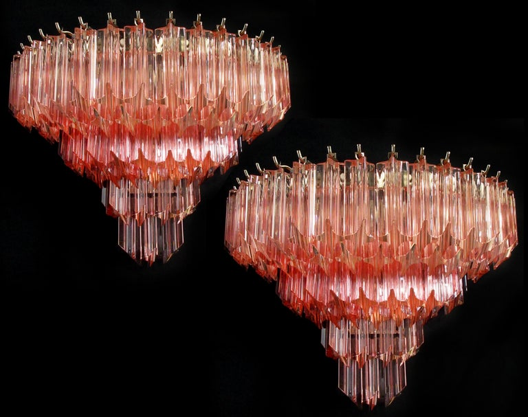 Pair of Vintage Murano Wall Sconce, 1980s For Sale 3