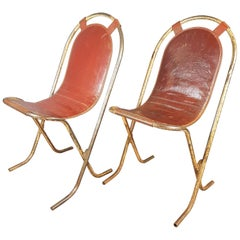 Pair of Vintage Stak-a-Bye Chairs by Sebel