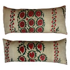 Pair of Vintage Suzani Pillow