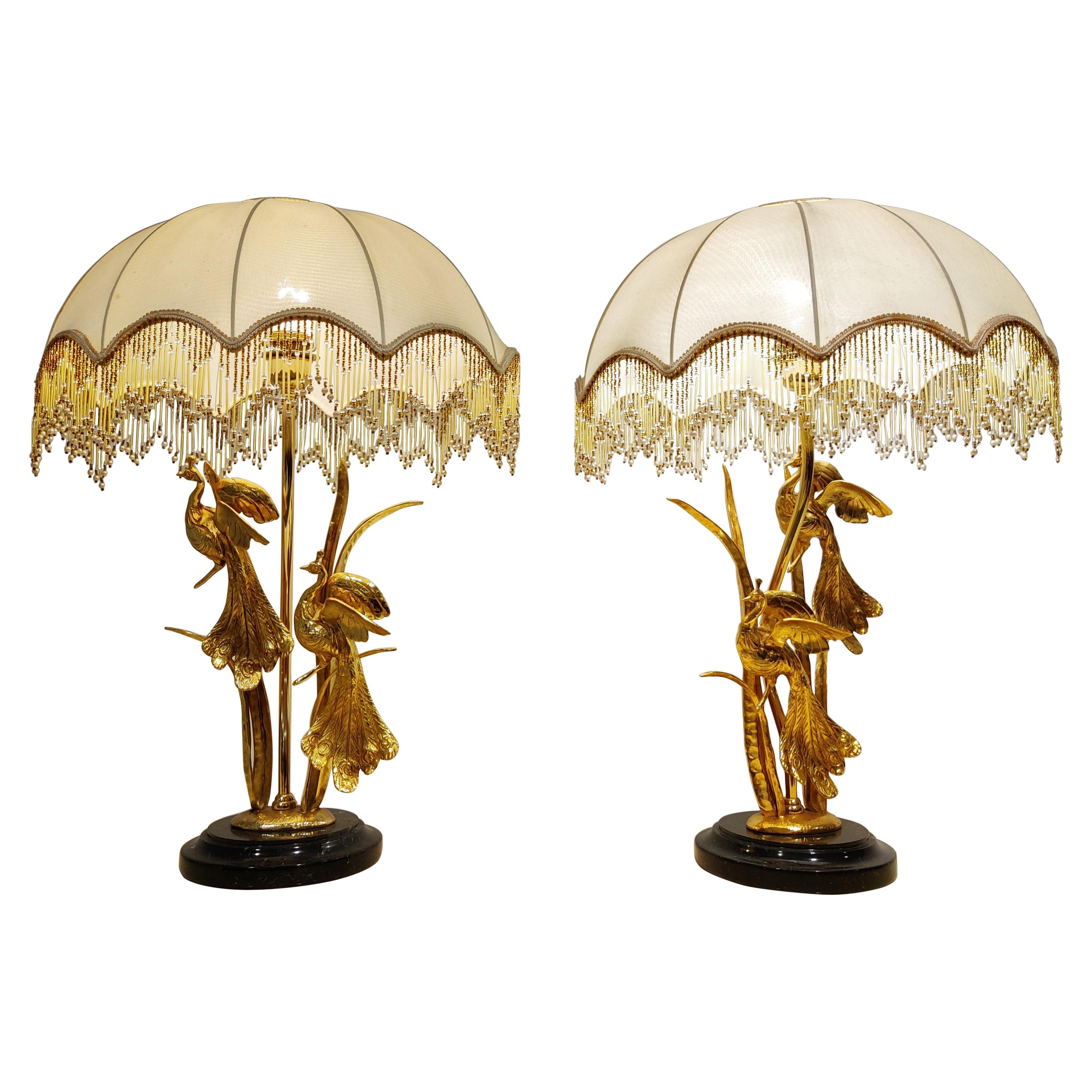 Pair of Vintage Table Lamps by L. Galeotti, 1970s