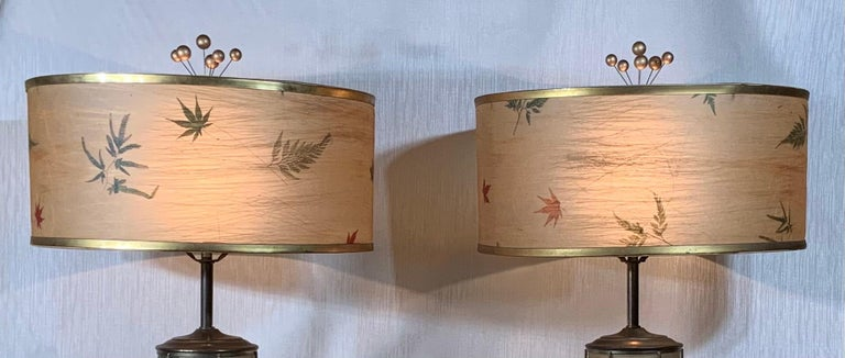 Pair of Vintage Table Lamps For Sale 8