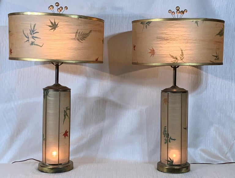 Pair of Vintage Table Lamps For Sale 9