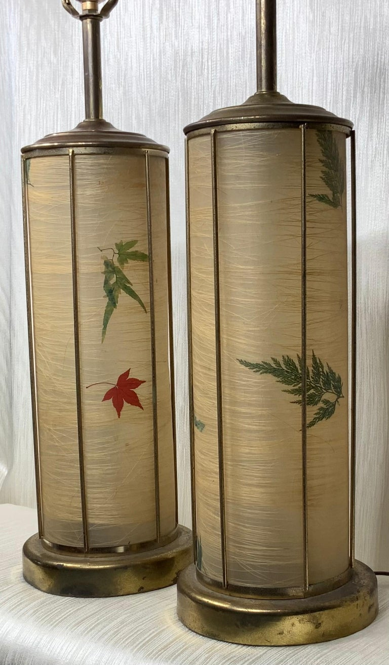 American Pair of Vintage Table Lamps For Sale