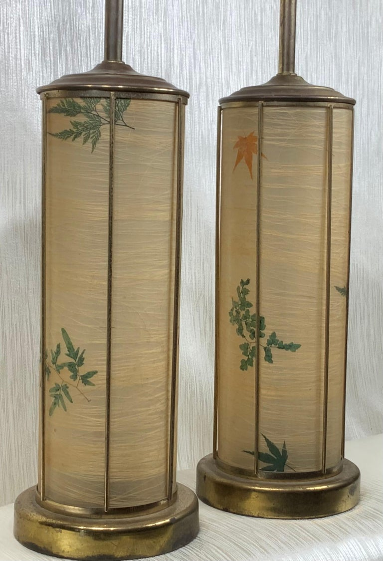 Pair of Vintage Table Lamps In Good Condition For Sale In Delray Beach, FL
