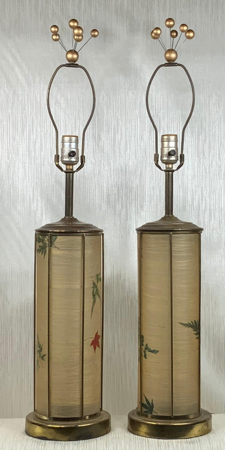 20th Century Pair of Vintage Table Lamps For Sale