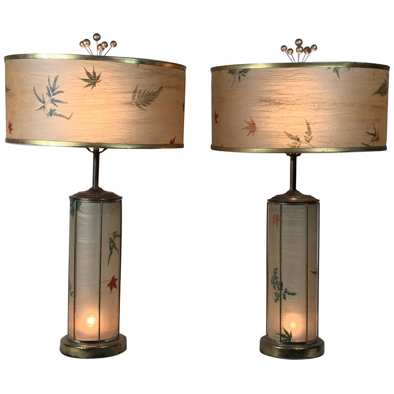 Pair of Vintage Table Lamps For Sale
