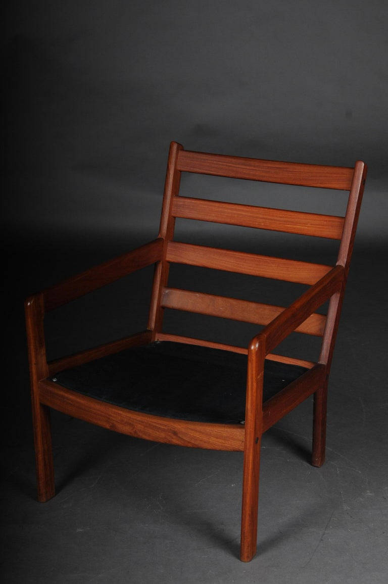 Pair of Vintage Teak Armchairs, Chairs, 1960s-1970s, Danish For Sale 5