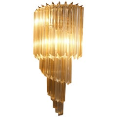 Pair of Vintage Wall Light by Venini, Murano