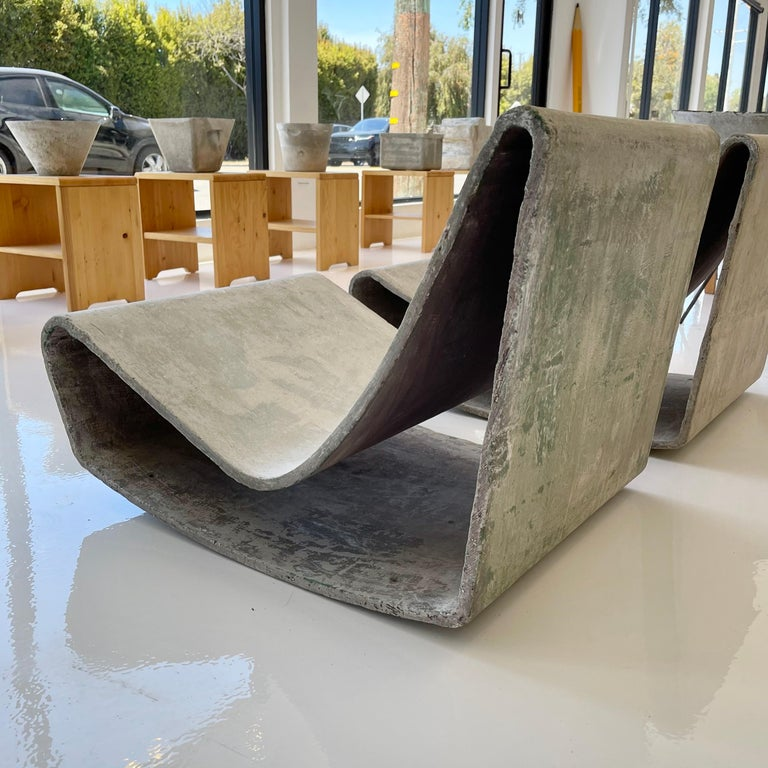 Pair of Vintage Willy Guhl Loop Chairs For Sale 4