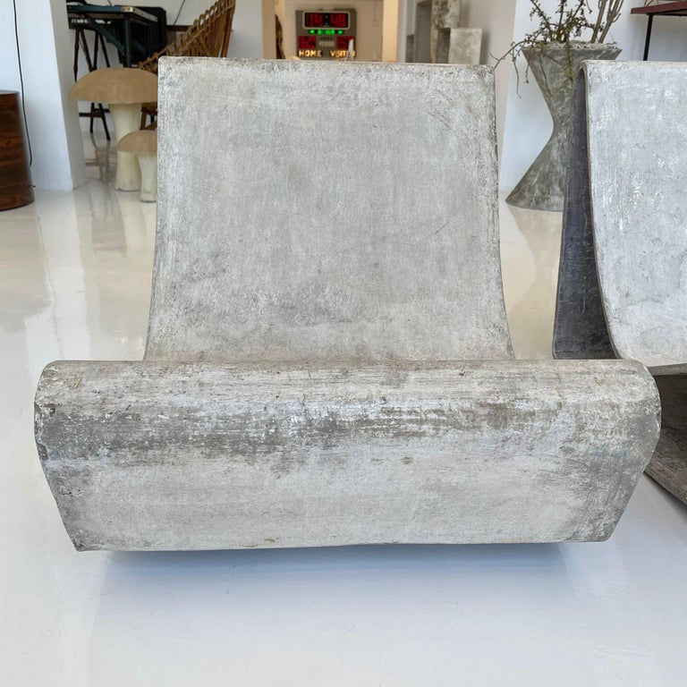 Pair of Vintage Willy Guhl Loop Chairs For Sale 2