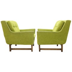 Pair of Vista Lounge Chairs by Dan Johnson for Selig