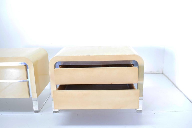 20th Century Pair of Vladimir Kagan Chests of Drawers or Nightstands For Sale