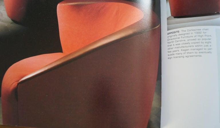 Pair of Vladimir Kagan Corkscrew Nautilus Swivel Chairs for Directional For Sale 2
