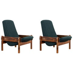 Pair of Vronka Armchairs, by Sergio Rodrigues, 1962 Brazilian Mid-Century Modern