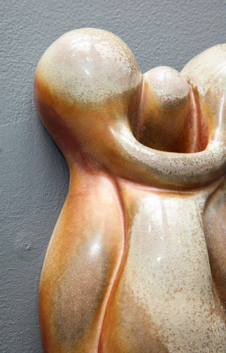 American Pair of Wall Hanging Sculptures by Rosanne Sniderman For Sale