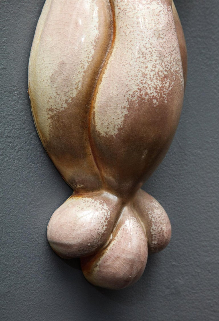 Pair of Wall Hanging Sculptures by Rosanne Sniderman In Excellent Condition For Sale In New York, NY