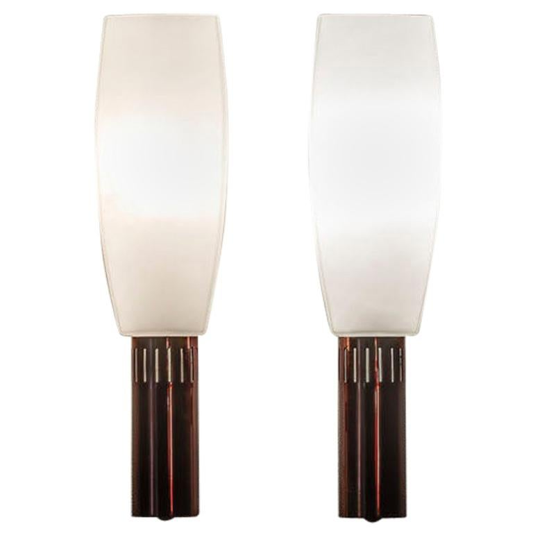 Pair of Wall Lamp by Stilnovo For Sale