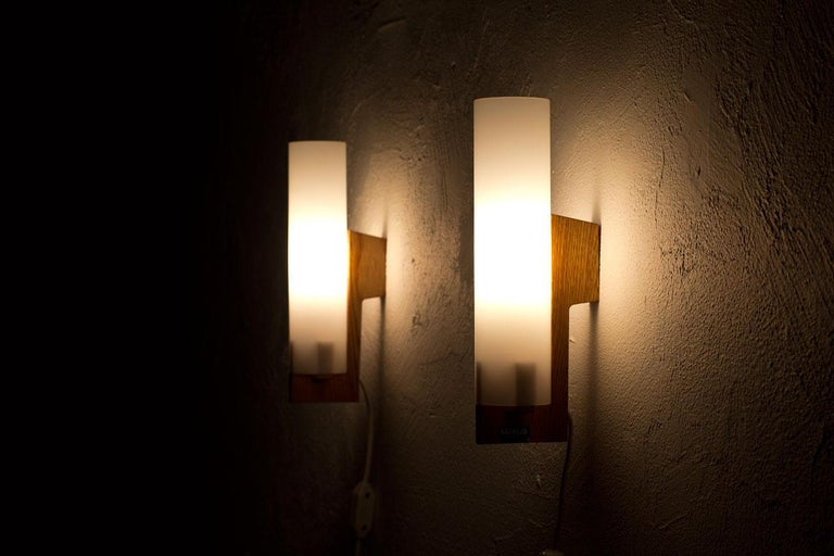 Pair of Wall Lamps by Luxus, Sweden, 1960s 1