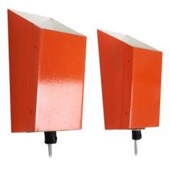 Pair of Wall Lamps/ Lidokov, 1970's