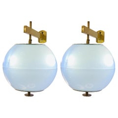 Pair of Wall Lights by Galassia, Italy, 1960s
