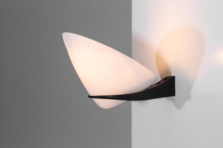 Pair of Wall Lights by Stilnovo Italian Design For Sale 1