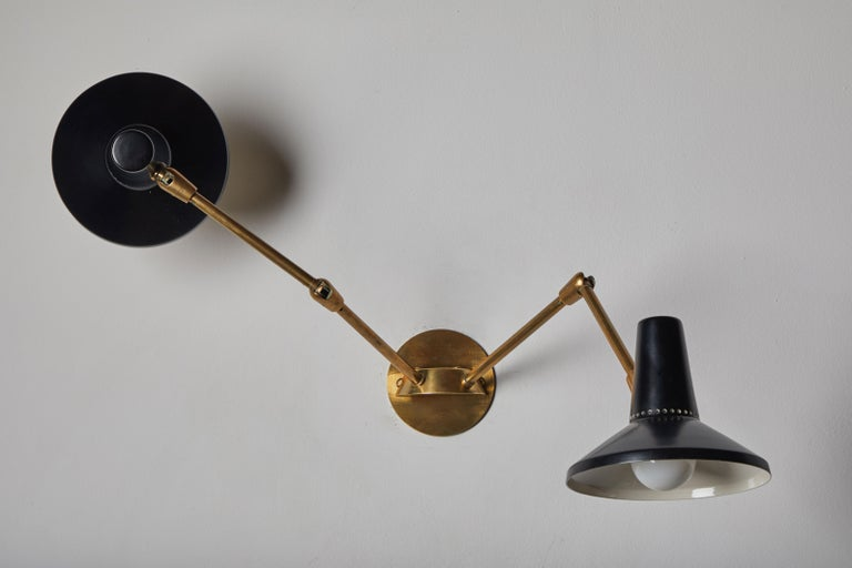 Pair of Wall Lights in the Style of Giuseppe Ostuni for O-Luce 5